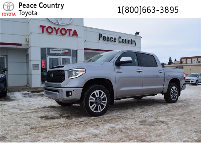 2019 Toyota Tundra Platinum 5.7L V8 (Stk: 19172) in Dawson Creek - Image 1 of 13