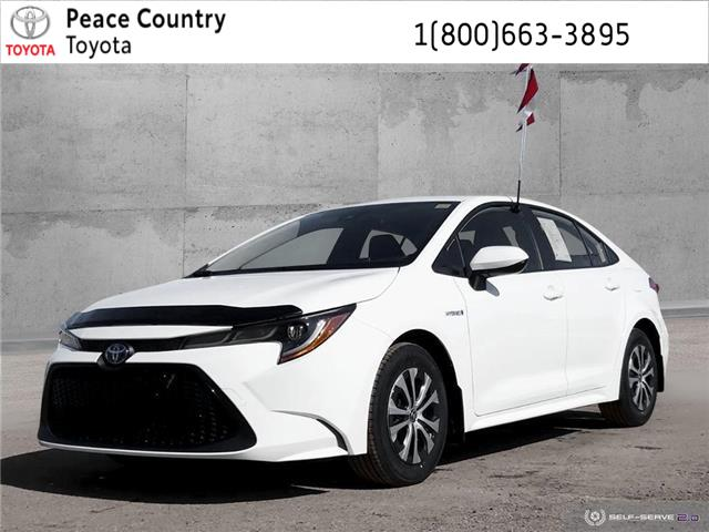 2020 Toyota Corolla Hybrid Base (Stk: 2091) in Dawson Creek - Image 1 of 24
