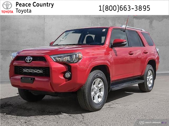 2016 Toyota 4Runner SR5 (Stk: PO1884) in Dawson Creek - Image 1 of 24