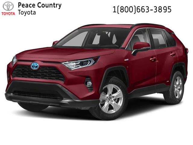 2020 Toyota RAV4 Hybrid LE (Stk: 20124) in Dawson Creek - Image 1 of 9