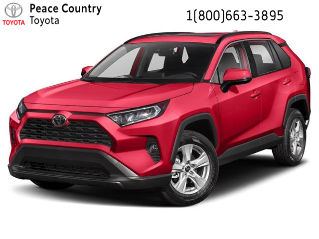 2020 Toyota RAV4 XLE (Stk: 20128) in Dawson Creek - Image 1 of 9