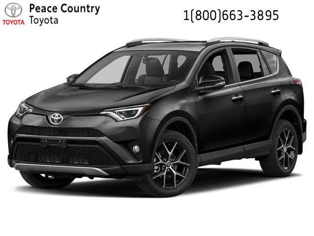 2017 Toyota RAV4 SE (Stk: PO1897) in Dawson Creek - Image 1 of 9