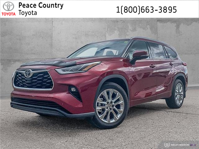 2020 Toyota Highlander Limited (Stk: 2093) in Dawson Creek - Image 1 of 25