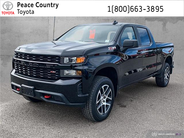 2019 Chevrolet Silverado 1500 Silverado Custom Trail Boss (Stk: 9755A) in Williams Lake - Image 1 of 22