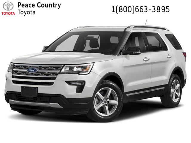 2018 Ford Explorer XLT (Stk: 4930A) in Vanderhoof - Image 1 of 9
