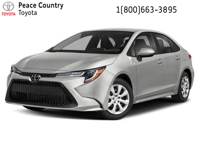 2020 Toyota Corolla LE (Stk: 2013) in Dawson Creek - Image 1 of 9