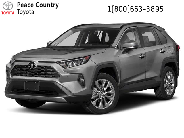 2021 Toyota RAV4 Limited (Stk: 2121) in Dawson Creek - Image 1 of 9