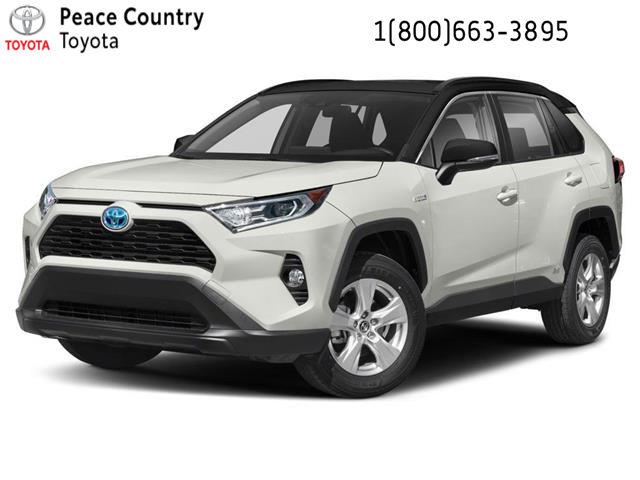 2021 Toyota RAV4 Hybrid XLE (Stk: 2143) in Dawson Creek - Image 1 of 12