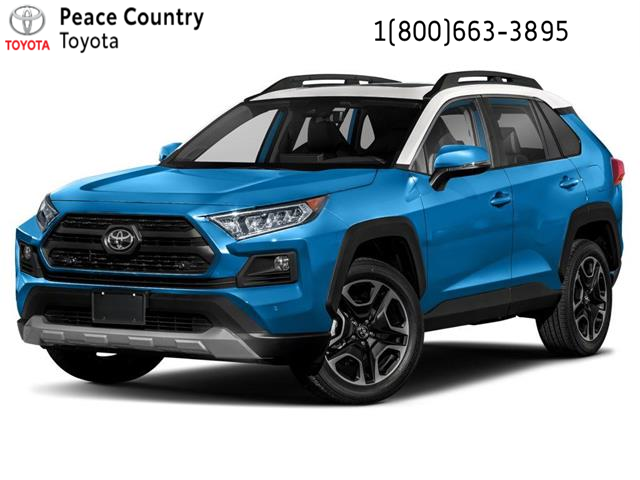 2021 Toyota RAV4 Trail (Stk: 2145) in Dawson Creek - Image 1 of 9