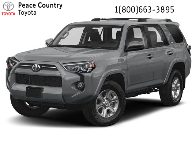 2021 Toyota 4Runner Base (Stk: 2172) in Dawson Creek - Image 1 of 9