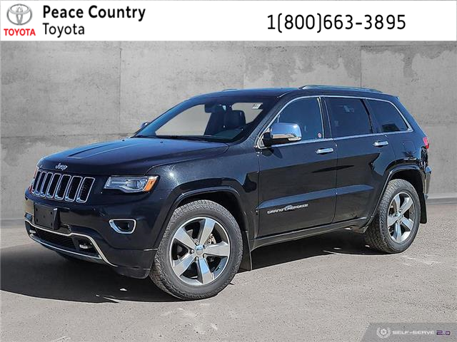 2014 Jeep Grand Cherokee Overland (Stk: 2162A) in Dawson Creek - Image 1 of 25