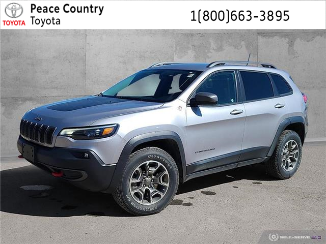 2020 Jeep Cherokee Trailhawk (Stk: PO1923) in Dawson Creek - Image 1 of 25