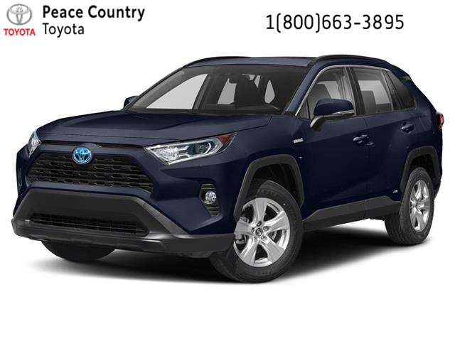 2021 Toyota RAV4 Hybrid XLE (Stk: 2186) in Dawson Creek - Image 1 of 9
