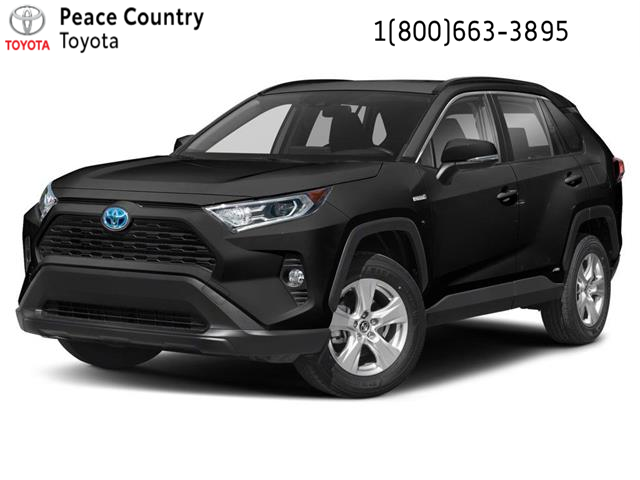 2021 Toyota RAV4 Hybrid XLE (Stk: 2187) in Dawson Creek - Image 1 of 9