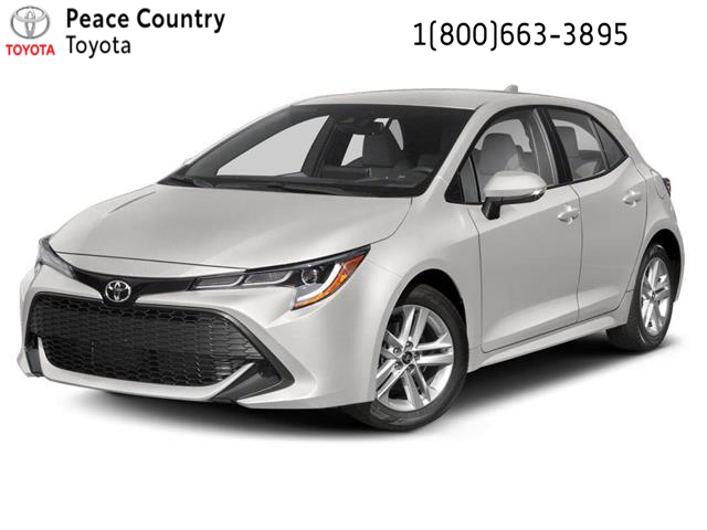 2021 Toyota Corolla Hatchback Base (Stk: 21159) in Dawson Creek - Image 1 of 9