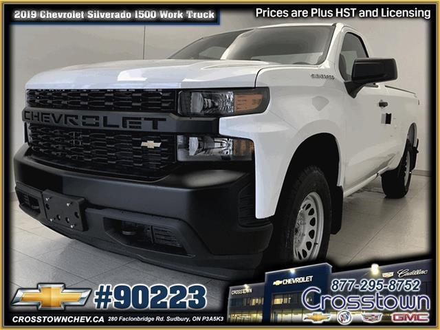 2019 Chevrolet Silverado 1500 Work Truck (Stk: 90223) in Sudbury - Image 1 of 14
