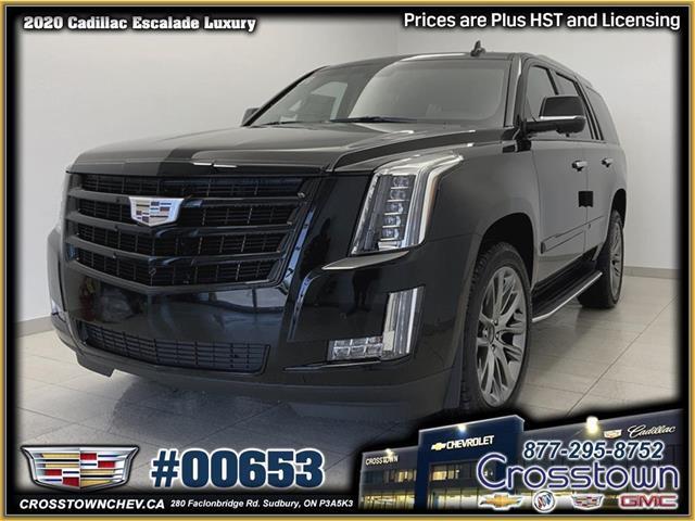 2020 Cadillac Escalade Luxury (Stk: 00653) in Sudbury - Image 1 of 28