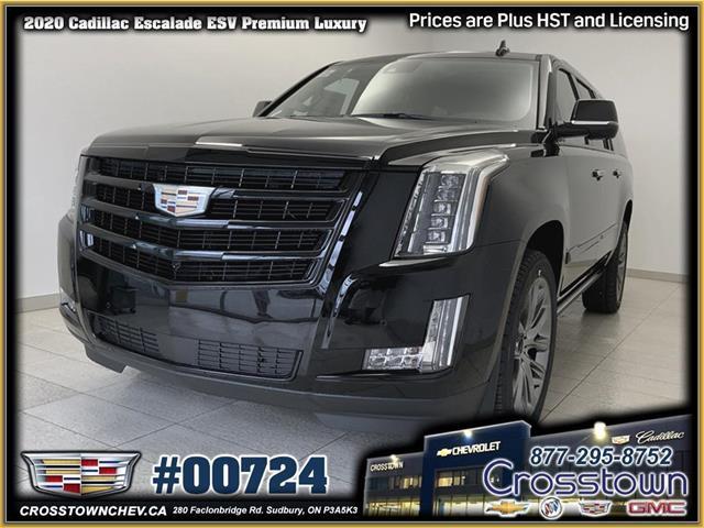 2020 Cadillac Escalade ESV Premium Luxury (Stk: 00724) in Sudbury - Image 1 of 29