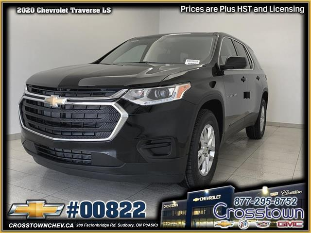 2020 Chevrolet Traverse LS (Stk: 00822) in Sudbury - Image 1 of 18