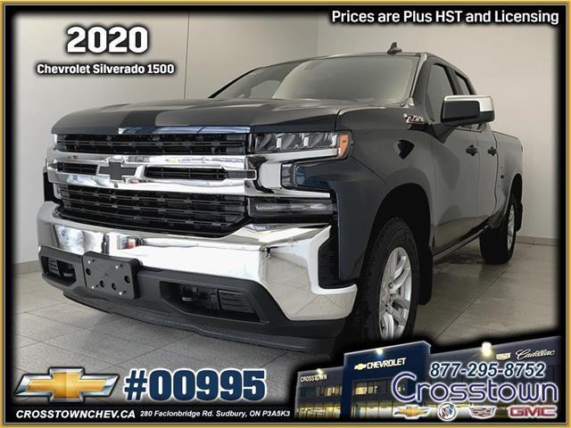 2020 Chevrolet Silverado 1500 LT (Stk: 00995) in Sudbury - Image 1 of 18