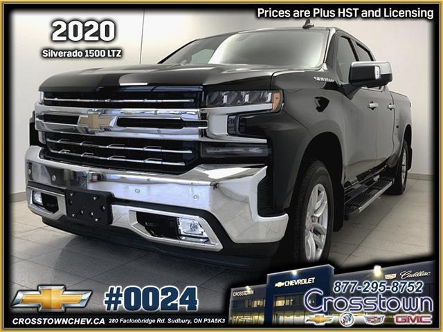 2020 Chevrolet Silverado 1500 LTZ (Stk: 0024) in Sudbury - Image 1 of 25