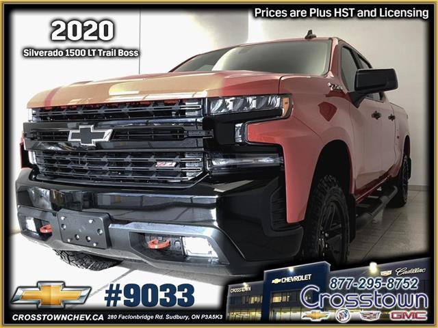 2019 Chevrolet Silverado 1500 LT Trail Boss (Stk: 9033) in Sudbury - Image 1 of 48
