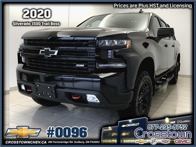 2020 Chevrolet Silverado 1500 LT Trail Boss (Stk: 0096) in Sudbury - Image 1 of 23
