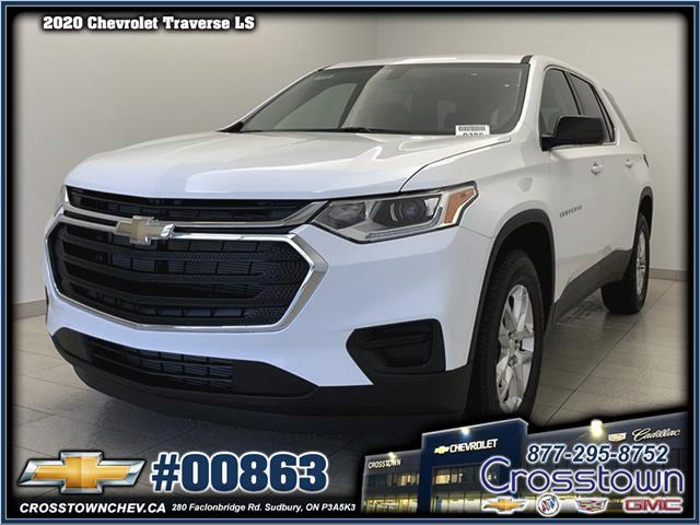2020 Chevrolet Traverse LS (Stk: 00863) in Sudbury - Image 1 of 17