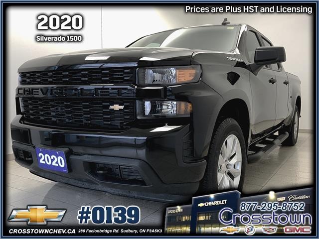 2020 Chevrolet Silverado 1500 Silverado Custom (Stk: 0139) in Sudbury - Image 1 of 15