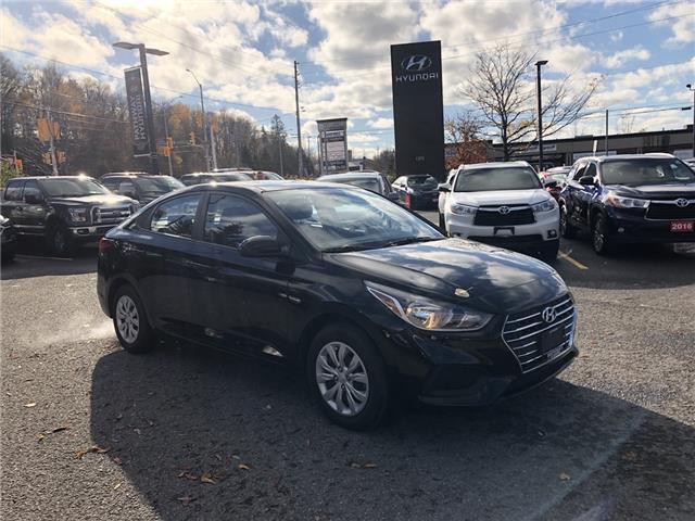 2019 Hyundai Accent ESSENTIAL (Stk: P3429) in Ottawa - Image 1 of 11