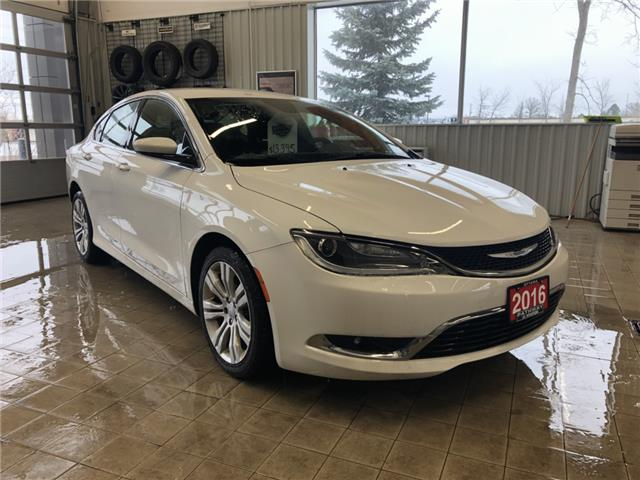 2016 Chrysler 200 Limited (Stk: R96159A) in Ottawa - Image 1 of 13