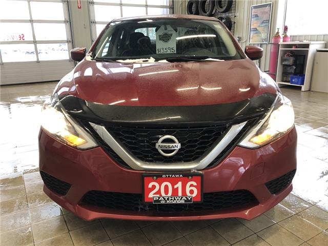 2016 Nissan Sentra 1.8 SV (Stk: DR95435A) in Ottawa - Image 2 of 14