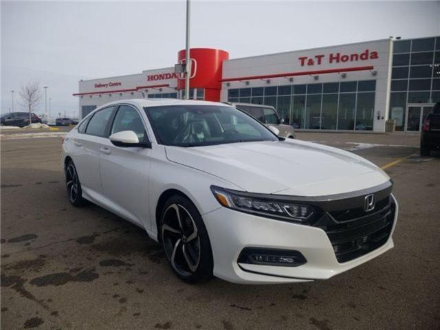 2019 Honda Accord Sport 1.5T (Stk: 2190313) in Calgary - Image 1 of 9