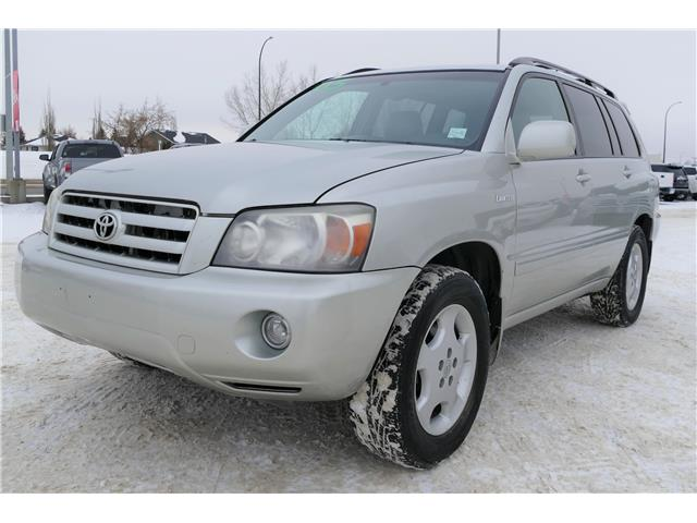 2005 Toyota Highlander V6 7 Passenger (Stk: B0111) in Lloydminster - Image 1 of 14