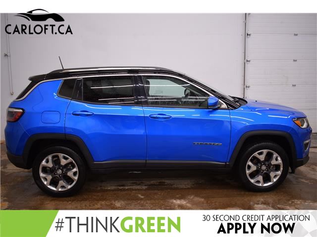 2018 Jeep Compass Limited (Stk: B5411) in Kingston - Image 1 of 30