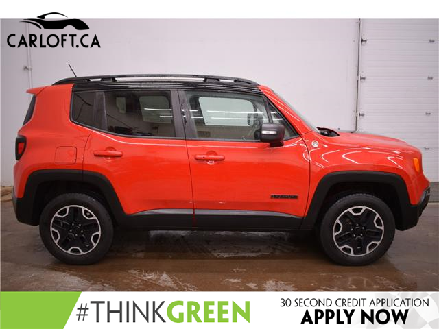 2016 Jeep Renegade Trailhawk (Stk: B4894) in Napanee - Image 1 of 28
