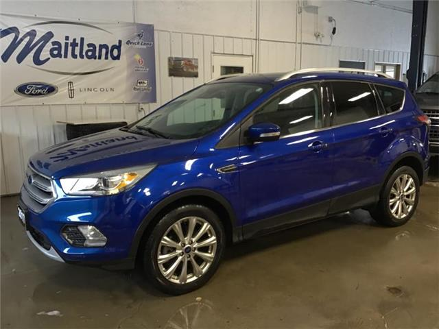 2017 Ford Escape Titanium (Stk: XB2891) in Sault Ste. Marie - Image 2 of 30