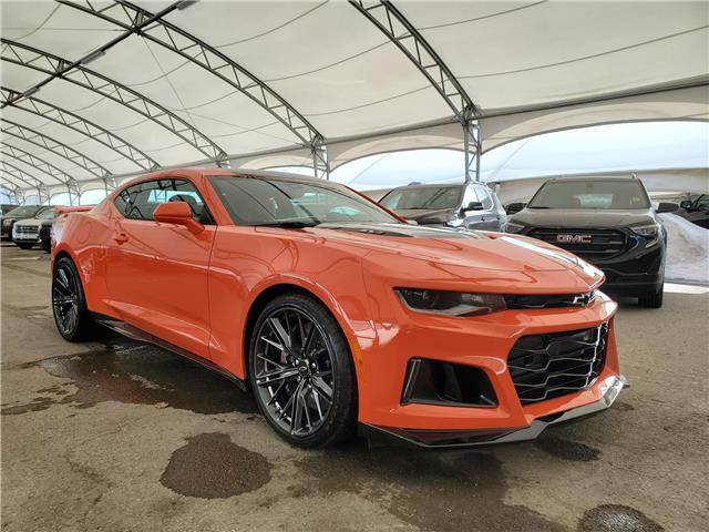 2020 Chevrolet Camaro ZL1 (Stk: 183248) in AIRDRIE - Image 1 of 33