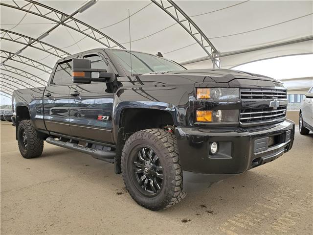 2018 Chevrolet Silverado 2500HD LTZ (Stk: 157759) in AIRDRIE - Image 1 of 27