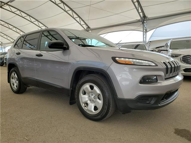 2018 Jeep Cherokee Sport 1C4PJLAB2JD556432 185037 in AIRDRIE