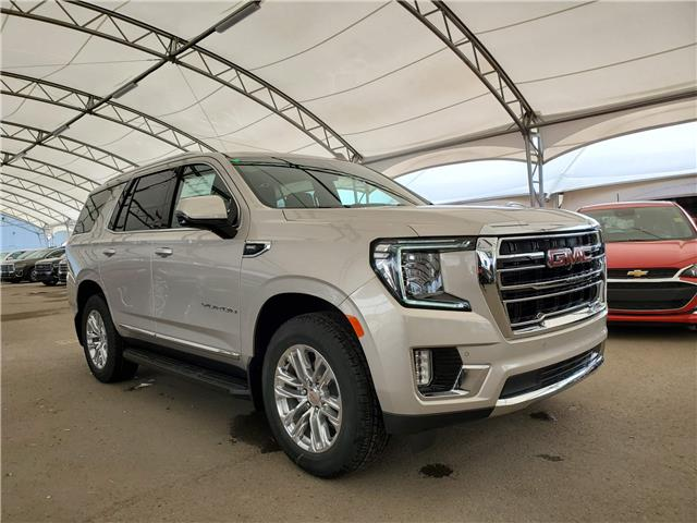 2021 GMC Yukon SLT (Stk: 185815) in AIRDRIE - Image 1 of 34