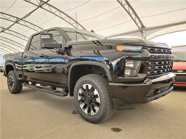2020 Chevrolet Silverado 2500HD Custom (Stk: 186393) in AIRDRIE - Image 1 of 27