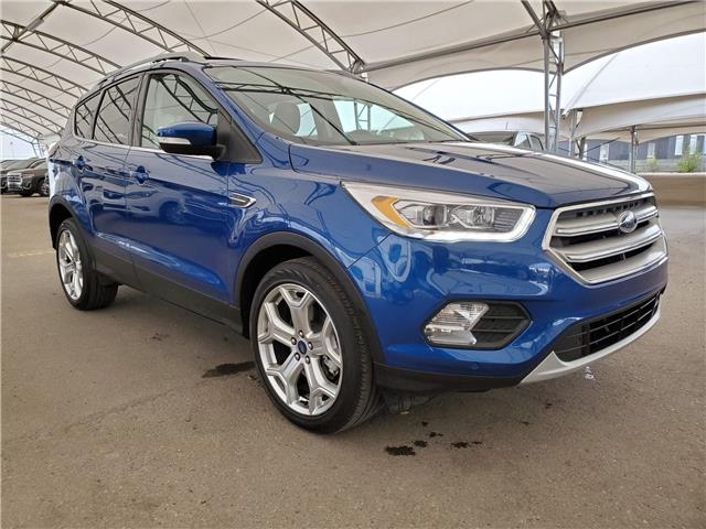 2019 Ford Escape Titanium (Stk: 186591) in AIRDRIE - Image 1 of 30