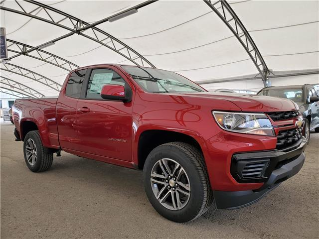 2021 Chevrolet Colorado WT 1GCHTBEA3M1131754 186578 in AIRDRIE