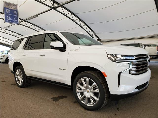 2021 Chevrolet Tahoe High Country 1GNSKTKL1MR157296 186918 in AIRDRIE
