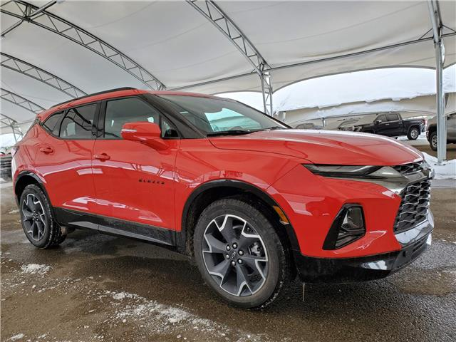 2021 Chevrolet Blazer RS (Stk: 186573) in AIRDRIE - Image 1 of 31