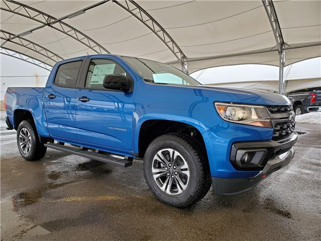 2021 Chevrolet Colorado Z71 (Stk: 186986) in AIRDRIE - Image 1 of 26