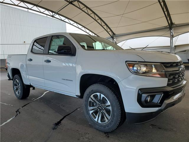 2021 Chevrolet Colorado Z71 (Stk: 187113) in AIRDRIE - Image 1 of 28