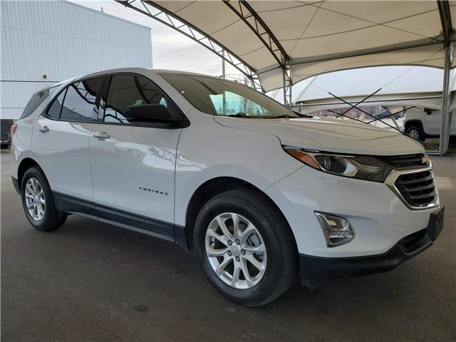 2019 Chevrolet Equinox LS 2GNAXSEV7K6143111 187489 in AIRDRIE