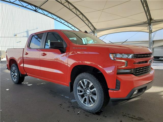 2021 Chevrolet Silverado 1500 RST (Stk: 187397) in AIRDRIE - Image 1 of 28